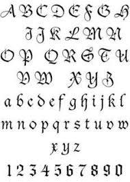 Tetování Písmo Vzory Tetovanicz