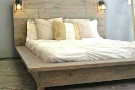 Metal Bed Frame No Headboard King Footboard Adjustable For ...