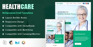 Healthcare Responsive Email Template Stampready Builder