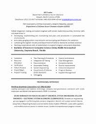 System Engineer Resume System Engineer Resume Format Fresh Desktop Support Engineer Resume 11