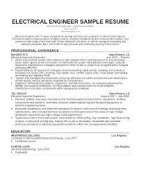 Electronics Engineer Resume Sample Magdalene Project Org