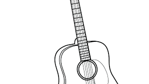 bass guitar coloring pages guitar coloring pages acoustic guitar coloring pages printable best free bass