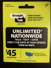 Do a quick google search an you will find a list of retailer's. Phone And Data Cards 43308 Straight Talk Rob Refill 45 Dollar Card 30 Day Prepaid Unlim Straight Talk Wireless International Sim Card Free Gift Card Generator