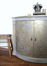 painted furniture makeover gold metallic. Gold And Gray Cabinet {Metallic Themed Furniture Makeover} Painted Makeover Metallic T