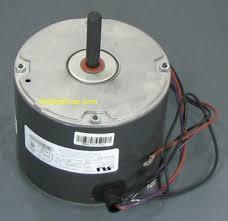 emerson model mot18687 condenser fan