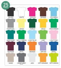 T Shirt Color Chart 1 Color Imprinted Greek Letter Long Sleeve T Shirt