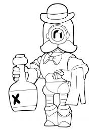 Commission i did for the legendary @lexbrawl his favorite brawler, crow!!#art#brawlstars#crow#commission. Colouring Page Wizard Barley Brawl Stars Coloringpage Ca
