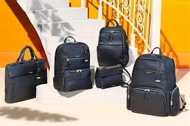 the latest voyageur collection is both luxurious and lightweight as well as sophisticated the calais backpack