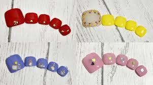 ペディキュアは100均を活用してセルフで夏カラー6色別デザインを解説