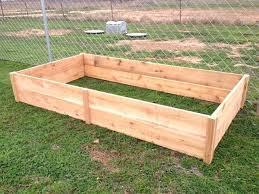 raised bed gardening cedar greenes fence dovetail cedar raised garden bed