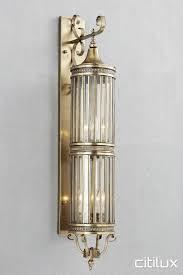 meadowbank classic outdoor brass wall light elegant range cux