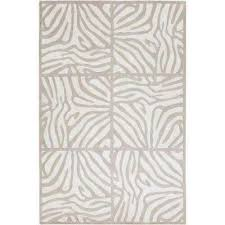 candice olson beige 2 ft x 3 ft area rug