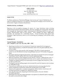 Resume For Managerial Position 9 10 Great Management Resumes Elainegalindo Com