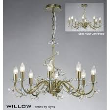 vintage brass chandelier willow large 8 light antique brass chandelier with crystal vintage brass chandelier parts