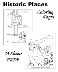 Small Picture Historic Places Patriotic coloring pages and pictures for kids
