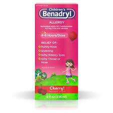 Benadryl Children's Children's Allergy Liquid from Vons - Instacart