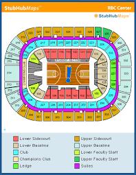 Rbc Center Seating Chart Nc State Basketball Tww Official Nc State Basketball Ticket Thread