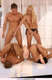 Bisexual Foursome Couples Cumception