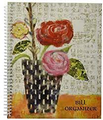 Monthly Bill Organizer Book Giftco Inc Monthly Bill Paying Organizing Organizer Budget Book