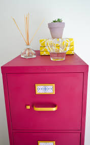 File Cabinet Paint Painted File Cabinet Unfolded