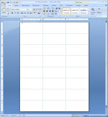 Label Templates In Microsoft Word 2007 Mediafoxstudio Com