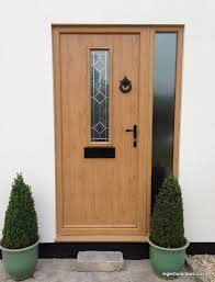 Irish Oak Milano Composite Door And Frame Random House Ideas - Hardwood exterior doors and frames
