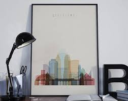 Small Picture Cincinnati poster Etsy