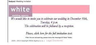 Marriage Invitation Sample Email Magnificent Wedding Invitation Email Fashion48top Fashion Arts