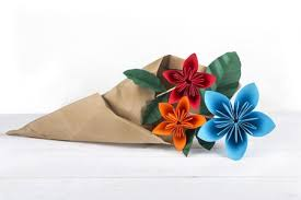 Paper Origami Flower Bouquet Different Types Of Pretty Origami Flowers