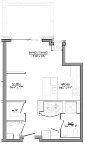 Studio 1b 1ba 582sqftfd9b4dc705d2fc1561de44be4a8eda46 View Floor Plan ...