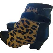 office leopard print. OFFICE LONDON Leopard Print Leather Boots Office T
