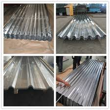 china high strength galvanized corrugated steel sheet for roofing china roofing sheet building material