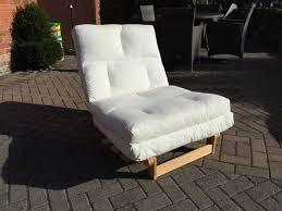 futon sofa awesome ikea folding bed chair with ikea munkarp single bedchairfuton in cream in loughborough