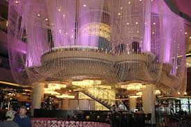 elegant chandelier las vegas or cosmopolitan chandelier bar best
