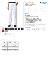 Gildan Open Bottom Sweatpants Size Chart Gildan 18400fl Ladies Heavy Blend Yoga Style Sweatpants