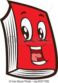 cartoon red book