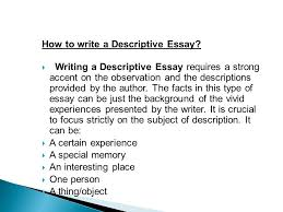 Descriptive Essay Describing A Person A Descriptive Essay About A Person Cresl We Been Knew Soci