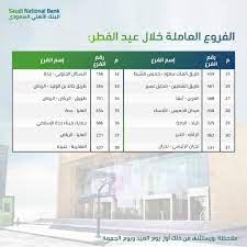 الحرية نيوز- أخبار السعودية :موعد اجازة عيد الفطر في البنوك بالسعودية 1442  والفروع المفتوحة خلال اجازة العيد