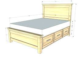 what is the dimensions of a king size bed measurements for a queen size bed frame bed size dimensions king