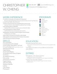Resume Christopher Cheng