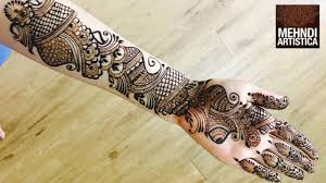 Mehndi Design Best Arabic 250 New Unique Arabic Mehndi Designs Of 2020 For Hands