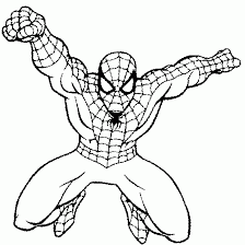 Print your own spiderman coloring book with these amazing coloring sheets! Spiderman Superheroes Printable Coloring Pages