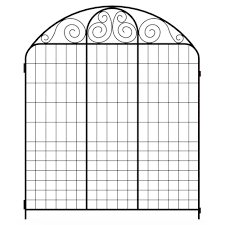 wire garden fence panels. Contemporary Fence Black Steel Fence Panel To Wire Garden Panels