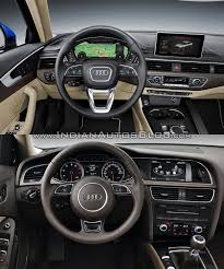 2016 audi a4 interior. 2016 audi a4 b9 vs 2013 b8 interior old new d