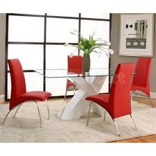 Full Size of Dining Room:charming Red Dining Room Chairs Appealing Wooden  Table 25 Modern ...