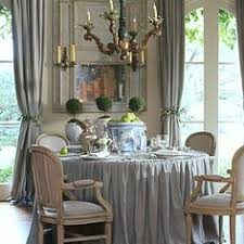 Country french dining rooms Room Chairs Skirted Table Eye For Design The Case For Round Skirted Dining Room Tables French Country Renovation Pinterest 142 Best Dining French Country Images Lunch Room Dinning Table