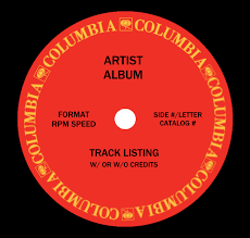 Columbia Records Label Template (1970S/80S) By Tjsworld2011 On ...