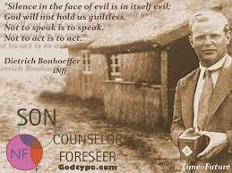 "Bonhoeffer Quotes New Dietrich Bonhoeffer Paraphrase Quote ""Not To Vote For Romney Is"