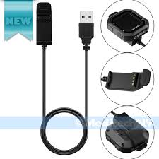 Replacement Usb Data Clip Charging Charger Cable For Garmin Edge 20 ...