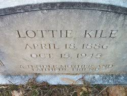 Lottie Dillon Kile (1886-1945) - Find A Grave Memorial